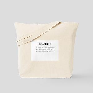 grammer Tote Bag