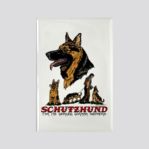 Schutzhund Rectangle Magnet #1