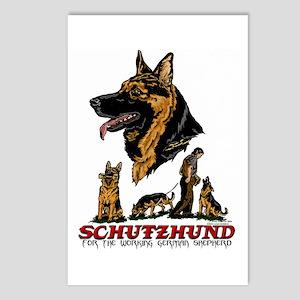 Schutzhund Postcards #1 (Package of 8)