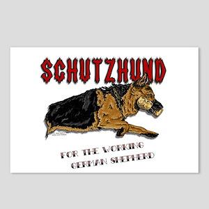 Schutzhund Postcards #2 (Package of 8)