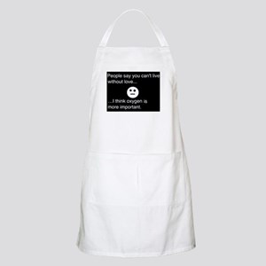 living without love.. Apron