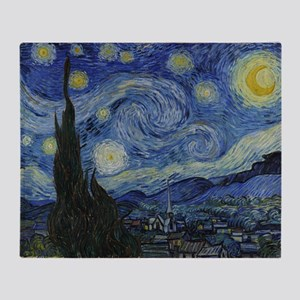 Vincent Van Gogh Starry Night Throw Blanket