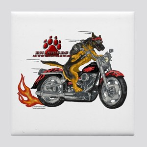 RH Riders Tile Coaster #1