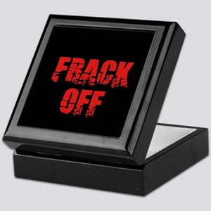 Frack Off Keepsake Box