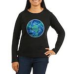 Celtic Planet Women's Long Sleeve Dark T-Shirt
