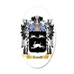 Canniff Oval Car Magnet