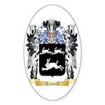 Canniff Sticker (Oval 50 pk)