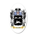 Canniff 20x12 Oval Wall Decal