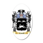Canniff 35x21 Oval Wall Decal