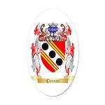 Cannan Oval Car Magnet