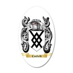 Canfield 20x12 Oval Wall Decal
