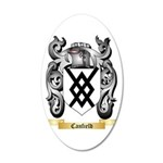 Canfield 35x21 Oval Wall Decal