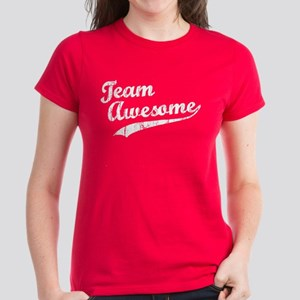 Team Awesome Women's Dark T-Shirt