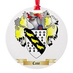 Cane Round Ornament