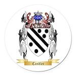 Candler Round Car Magnet
