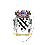 Candleman Oval Car Magnet