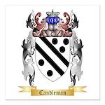 Candleman Square Car Magnet 3