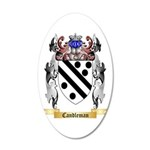 Candleman 20x12 Oval Wall Decal