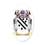 Candlemaker Oval Car Magnet