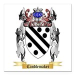 Candlemaker Square Car Magnet 3