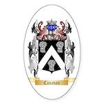 Canavan Sticker (Oval 50 pk)
