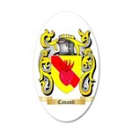 Canault 35x21 Oval Wall Decal