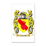 Canaud Rectangle Car Magnet