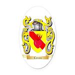 Canau Oval Car Magnet