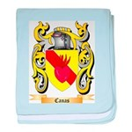 Canas baby blanket