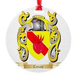 Canas Round Ornament