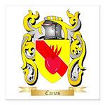 Canas Square Car Magnet 3