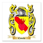 Canals Square Car Magnet 3