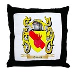 Canals Throw Pillow