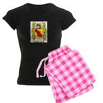 Canalini Women's Dark Pajamas