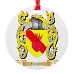 Canalini Round Ornament