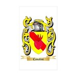 Canalini Sticker (Rectangle 10 pk)