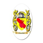 Canalini 20x12 Oval Wall Decal