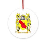 Canalini Ornament (Round)