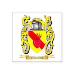 Canaletto Square Sticker 3