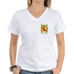 Canales Women's V-Neck T-Shirt