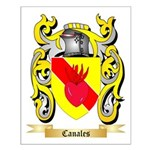 Canales Small Poster