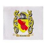 Canales Throw Blanket