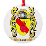 Canal Round Ornament