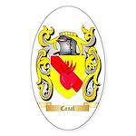 Canal Sticker (Oval 10 pk)