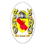 Canal Sticker (Oval 50 pk)