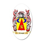 Camps 35x21 Oval Wall Decal