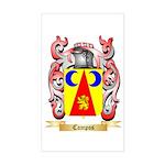 Campos Sticker (Rectangle)