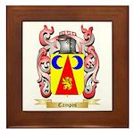 Campos Framed Tile