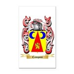 Camponi Rectangle Car Magnet