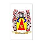 Campone 20x12 Wall Decal